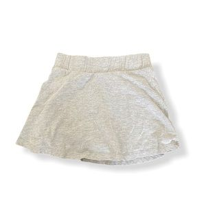 [3 for $15] Grey Little Girls Skirt with Shorts
